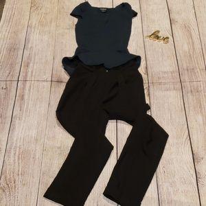 Asos high rise dress pants size 00